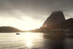 halny De sugarloaf Janeiro Rio zdjęcie stock
