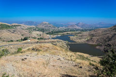 Halny dolina krajobraz Fotografia Royalty Free