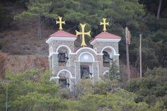 Halny dzwonkowy wierza zdjęcie royalty free