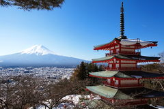 Halny Fuji Zdjęcie Stock
