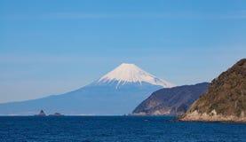Halny Fuji i Japonia morze Obraz Royalty Free