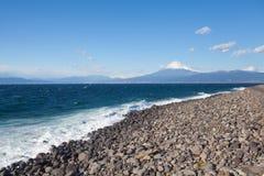 Halny Fuji i Japonia morze Obraz Stock