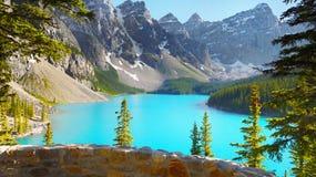 Halny Glacjalny jezioro Zdjęcia Royalty Free