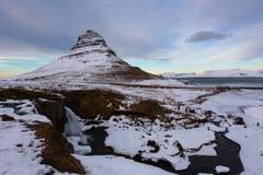 Halny Iceland Zdjęcia Royalty Free