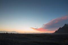 Halny Iceland Obraz Royalty Free