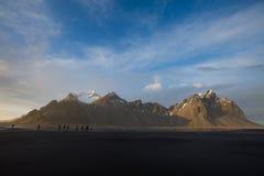 Halny Iceland Obrazy Stock