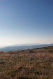 Halny jesień krajobraz Zdjęcie Stock