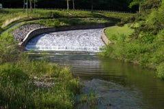 Halny Jeziorny Spillway w Virginia, usa Obraz Royalty Free