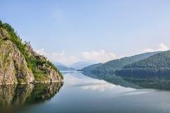 Halny jeziorny Vidraru Fotografia Royalty Free