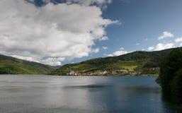 Halny jezioro Obrazy Stock