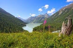 Halny jezioro Fotografia Stock