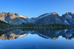 Halny jezioro Obraz Royalty Free