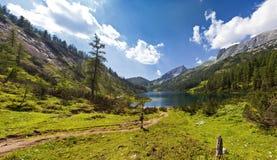 Halny jezioro - Austria Fotografia Stock