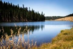 Halny jezioro, podział Kolorado Fotografia Stock