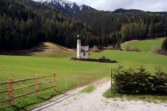 Halny kościół Fotografia Royalty Free