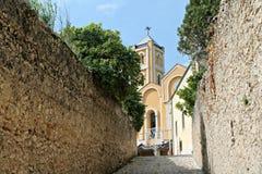 Halny kościół Obrazy Stock