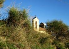 Halny kościół Zdjęcia Stock