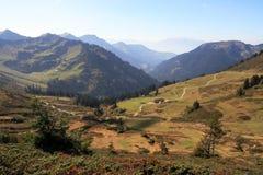 Halny krajobraz w Austria Zdjęcia Stock