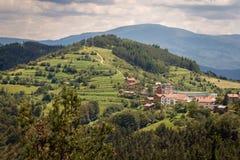 Halny kurort Yundola, Bułgaria, Europa Zdjęcie Stock