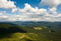 halny lato doliny widok Zdjęcia Stock