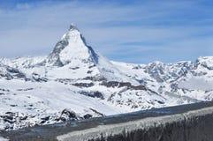 halny Matterhorn zermatt Switzerland Obraz Royalty Free