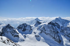 halny Matterhorn zermatt Switzerland Zdjęcia Stock