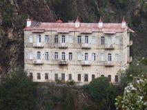 Halny monaster obraz stock