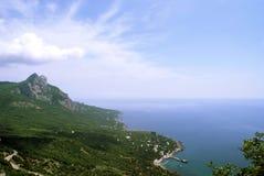 halny morze Zdjęcie Royalty Free