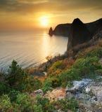 halny morze Obraz Stock