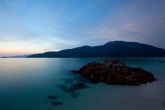 halny morze Obrazy Stock