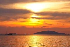 halny morze Zdjęcia Stock
