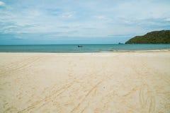 Halny morze w Prachuab Kiri Khan Obrazy Royalty Free