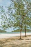 Halny morze w Prachuab Kiri Khan Obraz Royalty Free