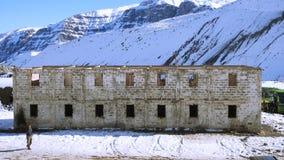 Halny śnieg n Chile i krajobraz Fotografia Royalty Free