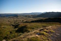 Halny plateau Valdresflye, Jotunheimen Zdjęcia Royalty Free