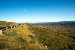 Halny plateau Valdresflye, Jotunheimen Zdjęcie Stock
