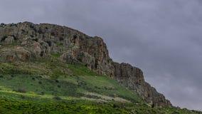 Halny pobliski morze Galilee Zdjęcia Royalty Free
