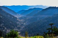 Halny range&mountain łańcuchu &Mountains&peak i & obrazy stock