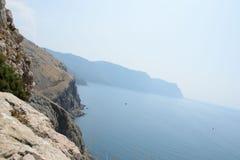 Halny sceneria krajobraz Fotografia Stock