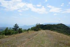 Halny sceneria krajobraz Zdjęcie Stock