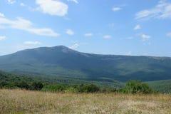 Halny sceneria krajobraz Obrazy Stock