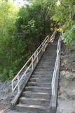 Halny schody Fotografia Stock