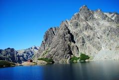 Halny schronienie w Bariloche, Argentyna Zdjęcie Stock