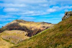 Halny spacer przy Madeira wyspą Zdjęcie Stock