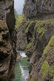 Halny strumie? w Tyrol zdjęcie royalty free