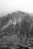 halny szczyt Fotografia Royalty Free