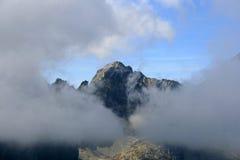 halny szczyt Obraz Royalty Free