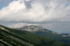 halny szczyt Zdjęcia Stock