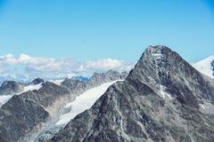 halny szczyt Obraz Stock