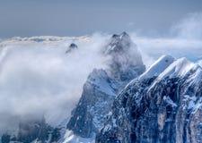 halny szczyt Zdjęcia Royalty Free